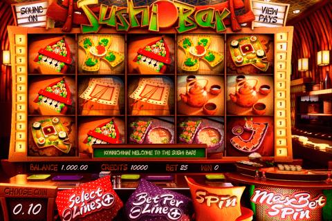 sushi bar betsoft automat online