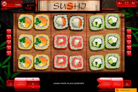 sushi endorphina automat online