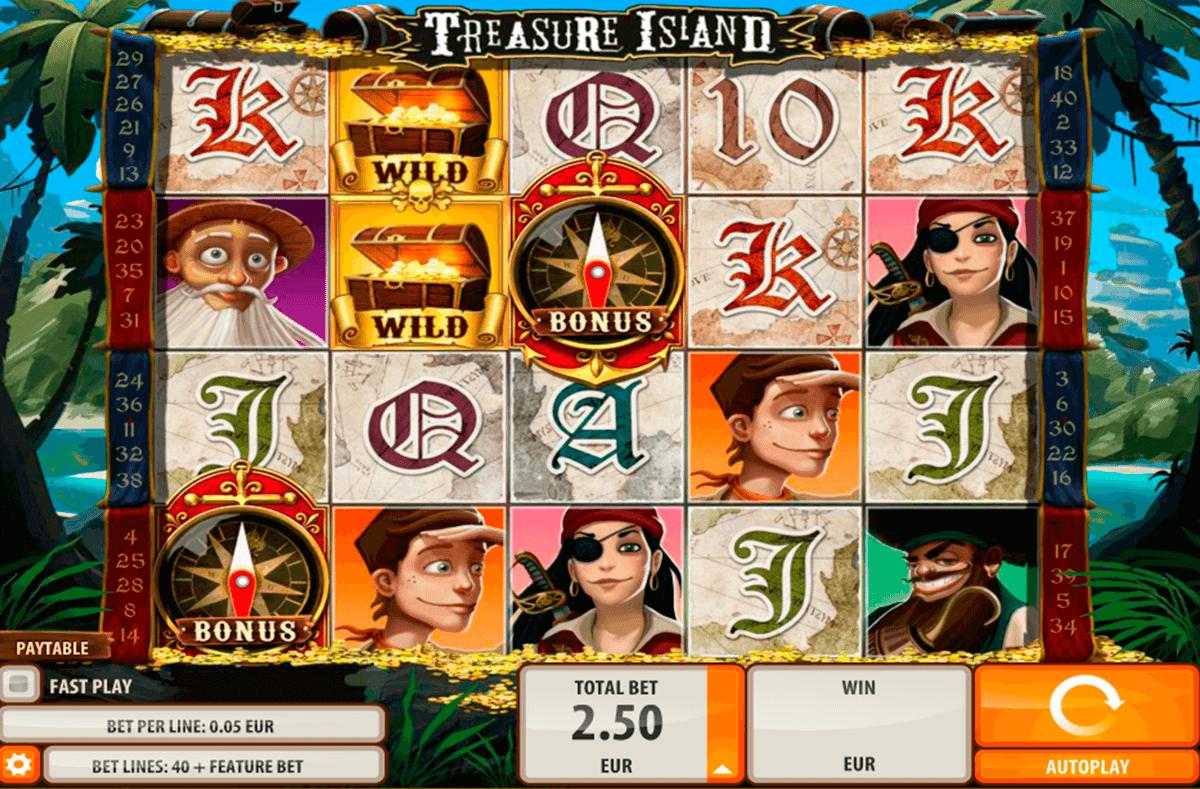 treasure island quickspin automat online