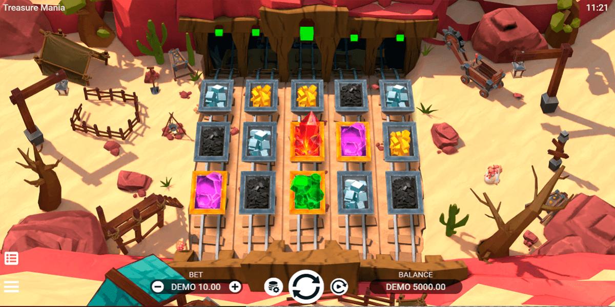 treasure mania evoplay entertainment automat online