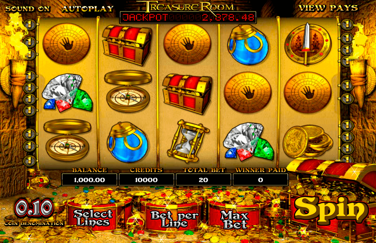 treasure room betsoft automat online