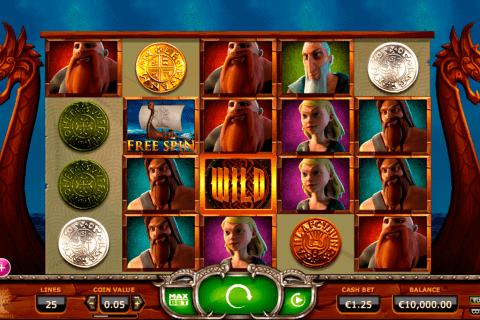 vikings go wild yggdrasil automat online