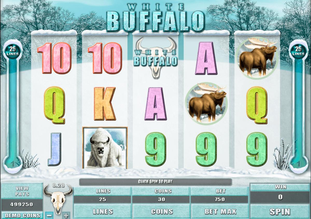 white buffalo microgaming automat online