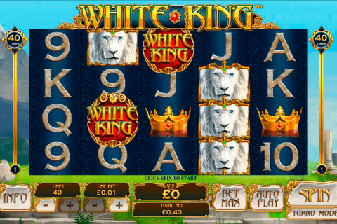 white king playtech automat online