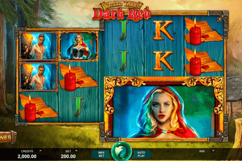 wicked tales dark red microgaming automat online