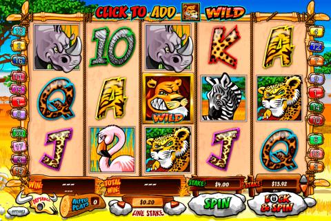 wild gambler playtech automat online