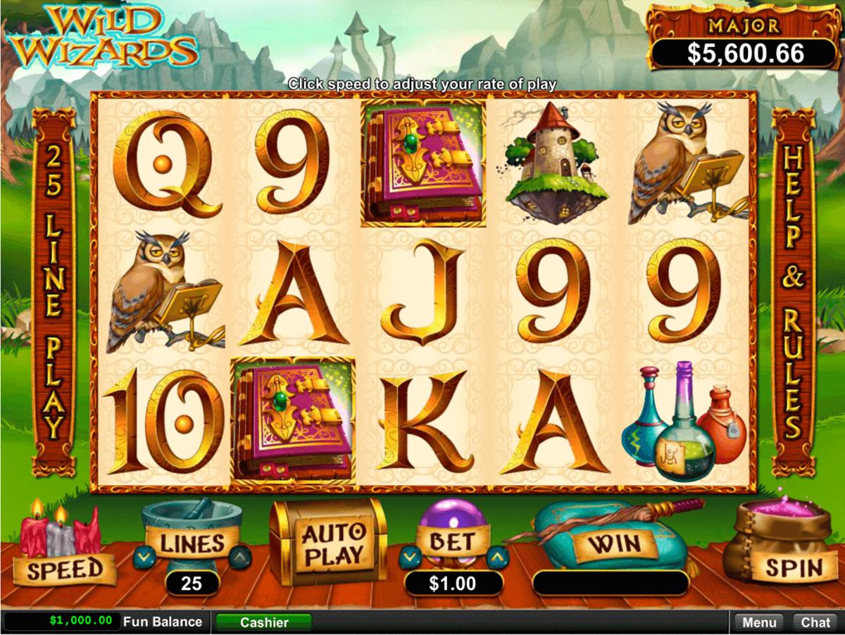wild wizards rtg automat online