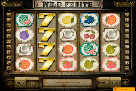 wildfruits endorphina automat online