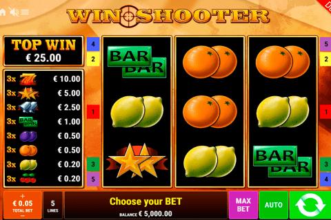 win shooter gamomat automat online