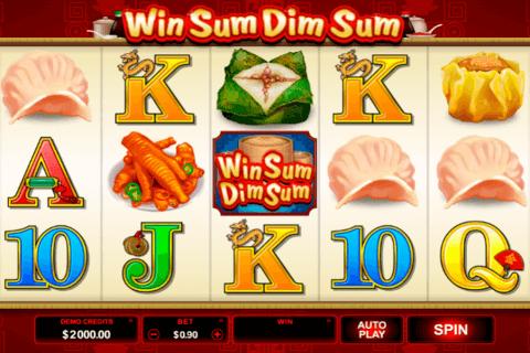 win sum dim sum microgaming automat online