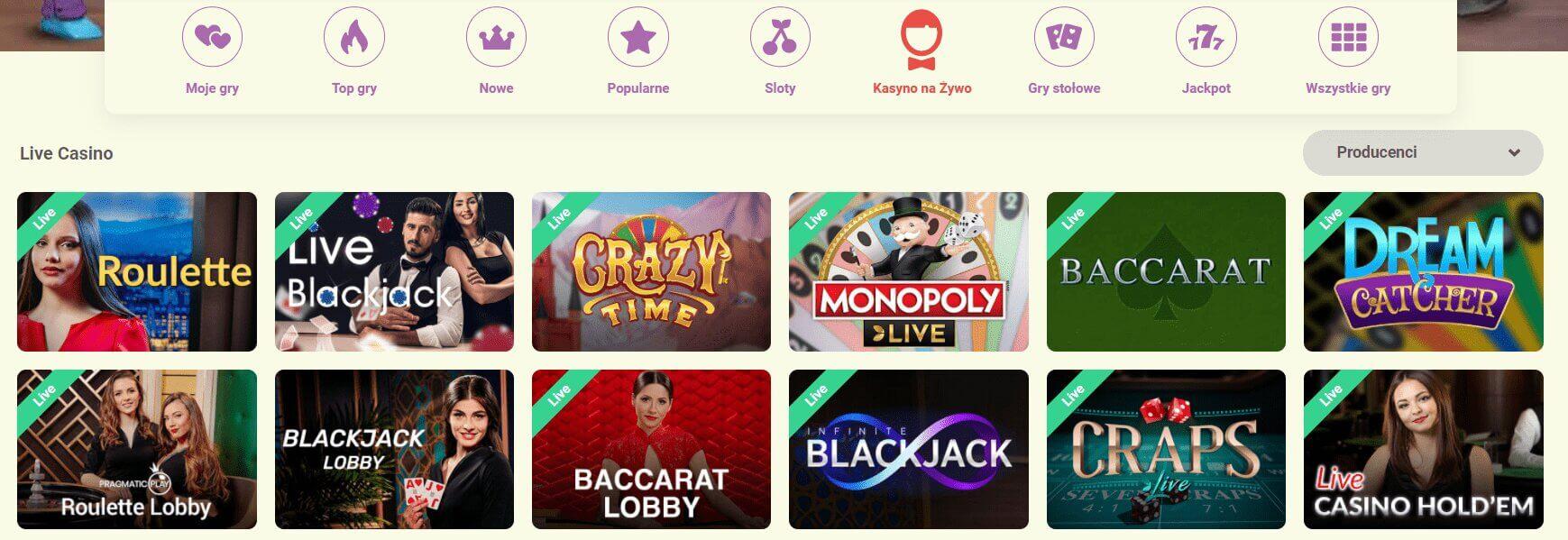 yoyo casino live screenshot