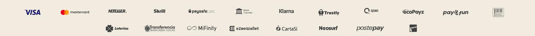 yoyo casino metody płatności screenshot